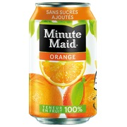 Packung 24 Dosen 33cl Minute Maid Orange