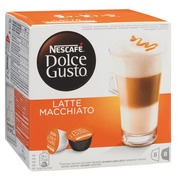 Box of 16 coffee capsules Nescafé Dolce Gusto Latte Macchiato