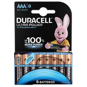 Blisterpackung mit 8 Batterien AAA Duracell Ultra Power
