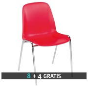 Pack Standard bucket seat red - 8 + 4 for free
