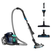 Philips PowerPro Active FC9556 - aspirateur - traineau - bleu louros
