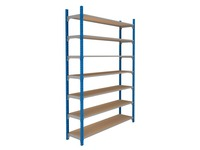 Set of 7 isorel shelves for Archiv'Pro width 150 cm