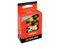 Cartridge Lexmark 24 Farbig