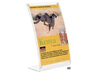 Counter display magnetic size A5 translucent