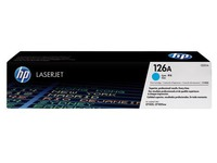 Toner HP 126A separated colors