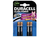 Alcaline battery AAA - LR3 Duracell Ultra Power - Blister of 4