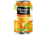 Cardboard 24 cans 33cl Minute orange Maid