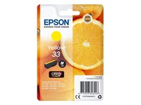 Epson 33 - yellow - original - ink cartridge