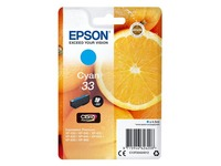 Epson 33 - cyan - original - ink cartridge