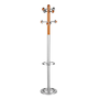 Hallstand metallic grey - color wood