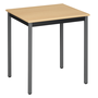 Multi-use eco table 70 x 60 cm beech